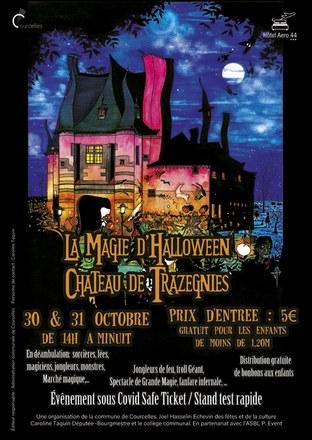 La magie d'Halloween au château de Trazegnies